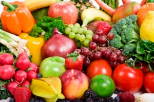 Vegetables full of Vitamins